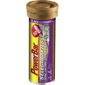 PowerBar 14 Electrolytes Zero Calorie Sports Drink tabletter 10 stk., Black Currant